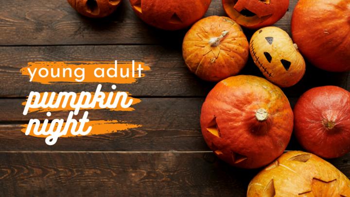 Halfmoon Young Adult Pumpkin Night